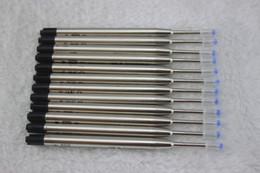 All'ingrosso-20 pezzi / lotto, (nero) Penna a sfera RICARICA per MONTE, nuovo design aste per penna / prezzo all'ingrosso da