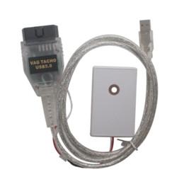 Wholesale Nec Mcu - Professional VAG Tacho USB Version V 5.0 For NEC MCU 24C32 or 24C64 VAGTacho USB V 5.0 with
