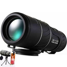 определение горячих точек Скидка Оптовая продажа-черный HD Компактный монокуляр зум 50x52 зум телескоп бинокль высокой мощности высокой четкости регулируемые дневные горячие продажа подарок