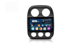 Wholesale Dvr Jeep - For Jeep Compass Car dvd Gps CPU R16 Cortex-A7 quad core,1.6G HZ 10.2inch Android Version 4.4.2 Wifi OBD DVR