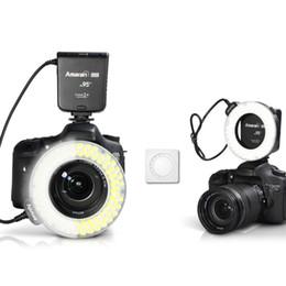 Wholesale Camera Mark Ii - Aputure Amaran Halo AHL-HC100 LED Ring Flash Light For Canon Camera DLSR Cameras 5D MARK II III 650D 550D 700D 7D 5D2 60D