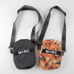 Wholesale M Messenger - M+RC NOIR RR SIDE REFLECTIVE Cross Body Hip Bag Sup Pack Chest Pack Unisex Fanny Pack Waist Bag Men Canvas 3M reflective Belt Messenger Bags