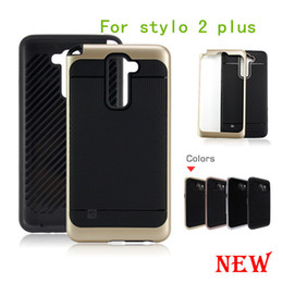 Wholesale Cell Combo - For LG stylo 2 plus ms550 K530 K536 K3 LS450 heavy duty rugged armor cell phone combo hybrid case cover skin shockproof