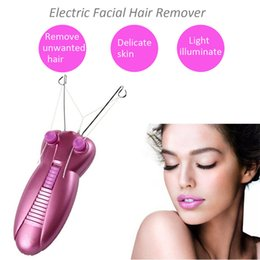 Wholesale Rechargeable Shaver For Women - Professional Styler Epilator Rechargeable Body & Face Hair Remove For Women Shaver Electic Lady Depilator for Home Using Dual Voltage