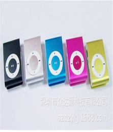 Wholesale Player Mp3 Voice Recorder Reader - Mini Lettore Mp3 Player Alluminio Clip Usb Supporta Micro Sd TF 16 32 Gb Rosso No Screen Clip MP3 Wholesale Gift Card Clip Good Quality Nice