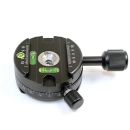 Wholesale Tripod Ball Head Pan - Wholesale-Panning Clamp X-64 Quick Release Clamp With A QR Plate Panoramic Ball Head Arca SUNWAYFOTO RRS Panoramic Tripod
