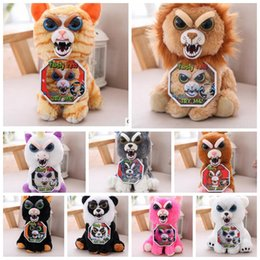 Wholesale Toys For Pranks - Change Face Feisty Pets Plush Toys Stuffed Animal Doll For Kids Cute Prank toy Christmas Gift Unicorn Stuffed Toy 15 design KKA3307
