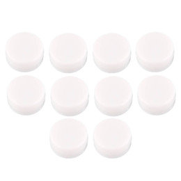 Wholesale Wholesale Baby White Noise - Wholesale-20 x White 22mm Diameter Toy Rattle Box Noise Maker Insert Pet Baby Toy Squeaker New