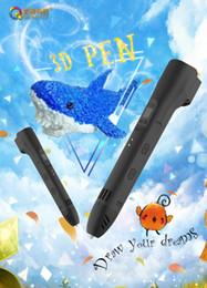 3D LCD Ekran DIY 3D Yazıcı Kalem ile 5M PLA filaman Arts ile Çocuk Çizim Araçları İçin 3d kalem kalemler nereden doodle art tedarikçiler