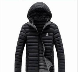 Wholesale Padded Hoodie - AD brand men's coats winter jacket Best Quality adults hoodies men Outerwear Cotton-padded 3 colors size L-4XL hot sell