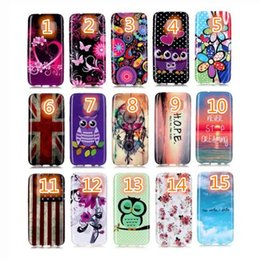 Wholesale Flag Skin - For Samsung S7 S7 edge A310 A510 LG v10 Tpu Gel Case silicone owl butterfly flowers flag Soft shell skin cover