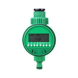 Wholesale Timer House - Electronic Outdoor Garden Plastic Green Lawn Drip House Water Irrigation Timer Automatic Solenoid Valve Sprinkler Controller