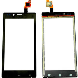 Wholesale St26i Digitizer - Touchscreen For Sony Xperia J ST26i ST26 Digitizer Front Glass Touch Panel With Sensor Screen Replacement+Tools
