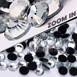Wholesale Ss34 Clear Flatback - AA Quality SS34 7.0-7.2mm,144pcs Bag Clear Crystal DMC HotFix FlatBack Rhinestones strass for DIY Heat transfer Hot Fix stones M67895