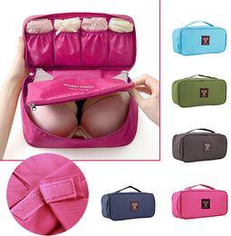 Wholesale Army Duffel Bag Green - 1 PCS Portable Protect Bra Underwear Lingerie Case Travel Organizer Bag wardrobe organizer Waterproof travel accessories