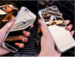 Wholesale Trends For Phone Cases - South Korea's new hot style trend following with dustproof plug phone sets Electroplating creative when the mirror on the back