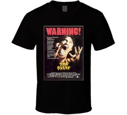 Wholesale Movie Crew - Short Sleeve T Shirt Men The Stuff 80s Cult Classic Horror Movie T shirt Print T Shirt Summer Style