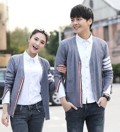 Wholesale Ms Spring - 2016 Spring and Autumn new models cardigan sweater TB co sweater coat Ms