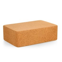 Wholesale Yoga Cork Block - Cork Wood Yoga Block High Density Provides Stability and Balance Support Bricks for Exercise Pilates Workout Fitness