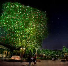 Elfes légers en Ligne-Extérieur étanche IP65 RG Dernières lumières Elf lumière laser extérieur Noël lumières décoratives paysage herbe jardin projecteur