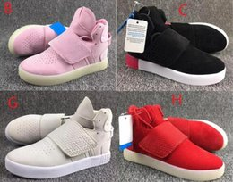 Wholesale Leather Straps For Cheap - 2017 Tubular Invader Strap 750 Boost BB5038 Wholesale Shoes For Mens women New Cheap Fashion Running Shoes Sport Sneakers 36-45