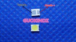 пластина для светодиодной панели Скидка UNI LED Подсветка 1210 3528 2835 1W 86LM Холодная белая ЖК-подсветка для ТВ-приложений MSL-628KSW-E43S