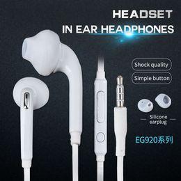 Wholesale Original Headphones - Samsung original earphone ear style high-quality sports Andrews heavy bass wire headset magic sound headphones Universal EO-EG920 GalaxyS7S6