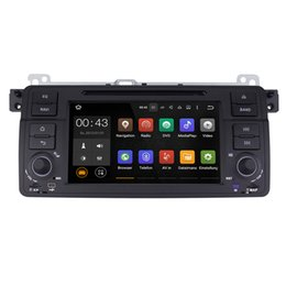 Wholesale Stereo Gps Wifi - Joyous Android 5.1.1 System 1024*600 Single DIN Car DVD For BMW E46 M3 1999-2005 Radio Stereo GPS Navi WIFI 3G