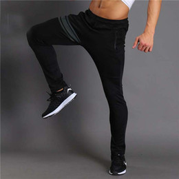 Wholesale Mens Bootcut Casual Pants - Wholesale- 2017 New Mens Quick Dry Long Pants Men Breathable Joggers Trousers Male Durable Casual Brand Clothing