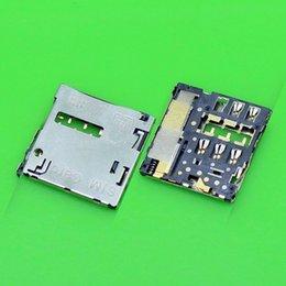 Wholesale Sim Card Holder S3 - Wholesale-Free ship,100pcs lot,Original new for Samsung S3 I9300 I9305 S4 I9505 I9500 NOTE2 N7100 N7105 sim card reader holder socket