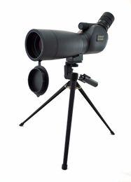 Trípode impermeable online-Visionking 20-60x60 Telescopio Monocular de Observación de Aves Impermeable Zoom Bak4 Telescopio de Caza para Observación de Aves W / Trípode
