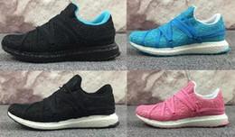 Wholesale 3d Printed Fabric - 2017 Ultra Boost Birds Nest Custom Running Shoes Men Women 3D Printed Black White Ultraboost Brand Designer Boots Trainer Sneakers 36-44