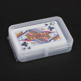 Прозрачная пластиковая коробка для игральных карт ПП Ящики для хранения Упаковка (КАРТЫ шириной менее 6 см) wen5065 от Поставщики пластиковые карточные коробки