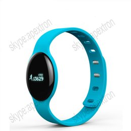 Wholesale Outdoor Gps Watches - Waterproof Bluetooth4.0 GPS Smart Woman and Mens SOS Sport Pebble Bluetoo Watches Silicon Bracelets for Apple IOS and Android Phone