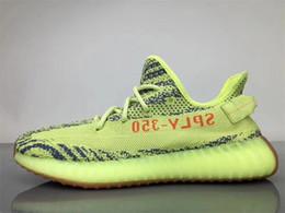 Wholesale Pink Gold Snow - Originals Y CP9654 Zebra Boost 350 V2 Kanye West Season 3 Semi Frozen SPLY 350 Boost V2 Shoes Black Red CP9652 Beluga 2.0 Running Shoes