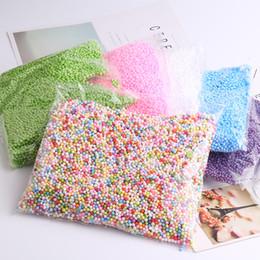 Wholesale Foam Novelties - Multicolor Styrofoam Balls for DIY Slime, Crafts, & Wedding, Tiny Foam Festival Novelty Children Slime Toy