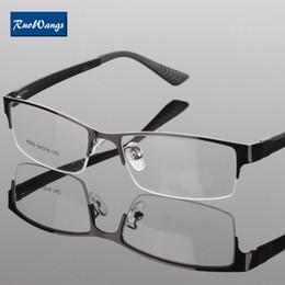 6796969cbb0 Wholesale- RuoWangs Eyeglasses men women brand frame glasses fashion eye  glasses optical glasses Myopia spectacle frame oculos prescription optical  frames ...