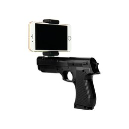 Wholesale Game 3d - AR Gun Toy Smart Pistol Bluetooth Game Handle Controllers W  Phone Stand 3D AR Games Gun Toy For Android ios