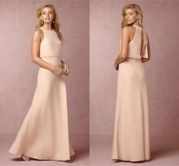 Long pastel colored dresses