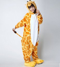Wholesale Fancy Pajamas - 2016Hot sell Details about Women's Mens Christmas Gift Halloween Fancy Dress Costume Pajamas Animal Cosplay Onesies