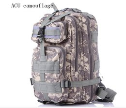 Wholesale Backpacks Army - Outdoor camouflage packs backpacks waterproof bag gym bags Army fans climbing hiking bag 25L hight capacity FREE SHIPPING
