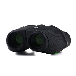 Wholesale Night Vision Infrared Telescope - 2016 BIJIA 12X Magnification Binoculars 12x25 Portable High-powered Pocket-sized Non-infrared Telescope 100% High Definition With Package