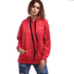 Wholesale Tracksuits For Big Women - Street Fashion Harajuku Hoodies for Women Hooded Loose Casual Female Sweatshirt Solid Color Big Pocket Jacket Cashmere Tracksuit