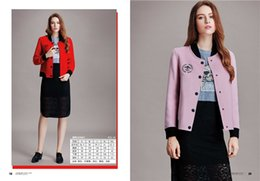 Wholesale Ladies Pink Wool Coats - new arrival short womens winter coats 2016 polo neck high quality wool coats ladies Outerwear woolen coats