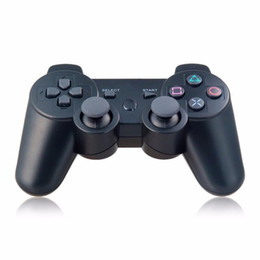 Wholesale Play Console Games - Best gift Wireless Bluetooth Gamepad For Sony PS3 Controller Playstation 3 dualshock game Joystick play station 3 console PS 3 with package