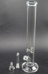Wholesale Free Oil Filter - In Stock Glass Dab Oil Rigs Bongs Recycler 45cm Tall Filter Cup Pipes 18.8mm Joint 55mm diameter Water Pipes Concentrate Rigs Hookahs GB-172