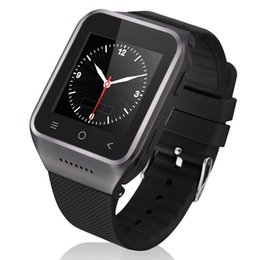 Wholesale Gps Watch Mp4 - S8 1.54inch 3G Dual Core Smart Watch Phone 512M RAM+4G ROM 2MP Camera MP3 MP4 FM Phone Recorder for Android 4.4