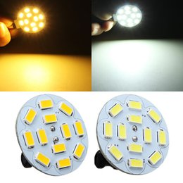 Wholesale Led Dc Bulbs For Sale - Hot Sale High Quality G4 3W White Warm White 12 SMD 5730 LED Light Lamp Bulb For AC DC 12V