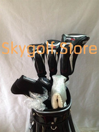 Wholesale Iron Cart - New 915 golf complete set of clubs with graphite shafts 915d2 915d3 driver 915f fairway woods 714 irons clubs with golf cart bag