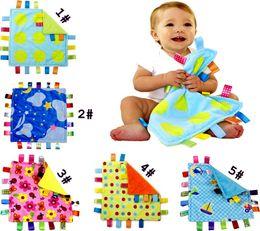 Wholesale Bar Towels - 30*30cm Emotion Pacify Blanket Cartoon Colorful Baby Towel Swaddle Wrap Blanket Blankets Towelling Baby Baby Infant Blanket